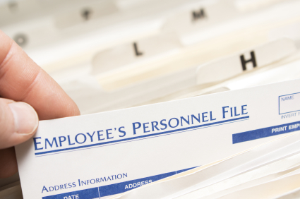 Employees Personnel File